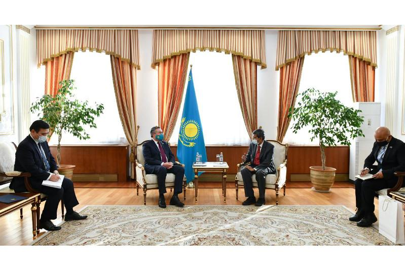 Indian Ambassador completes his diplomatic mission in Kazakhstan