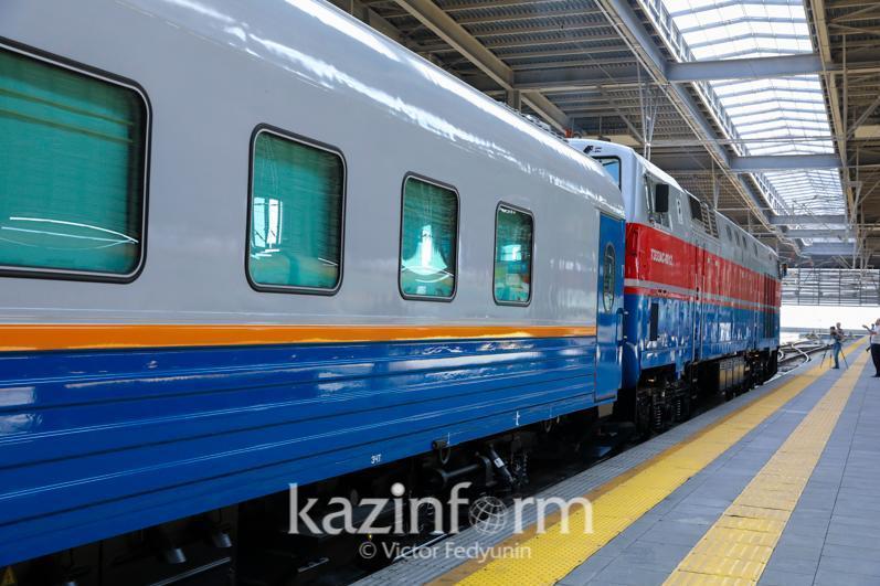 Ограничения сняли для пассажирских поездов в Костанайской области