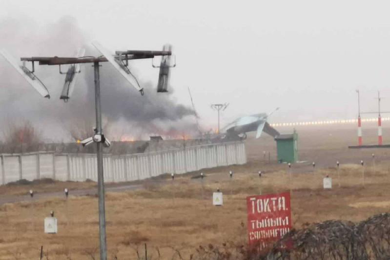 Четверо погибли при падении самолета возле аэропорта Алматы – предварительные данные МЧС