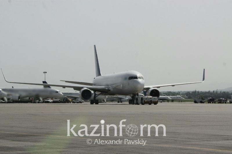 Алматы әуежайында рейстер бөгелуде