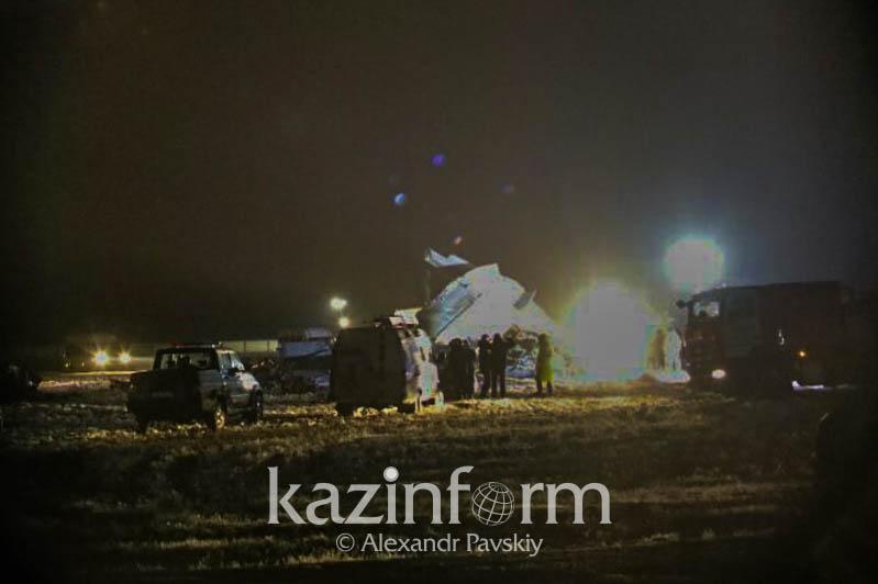 Потерпевший крушение самолет принадлежал авиационной службе КНБ РК