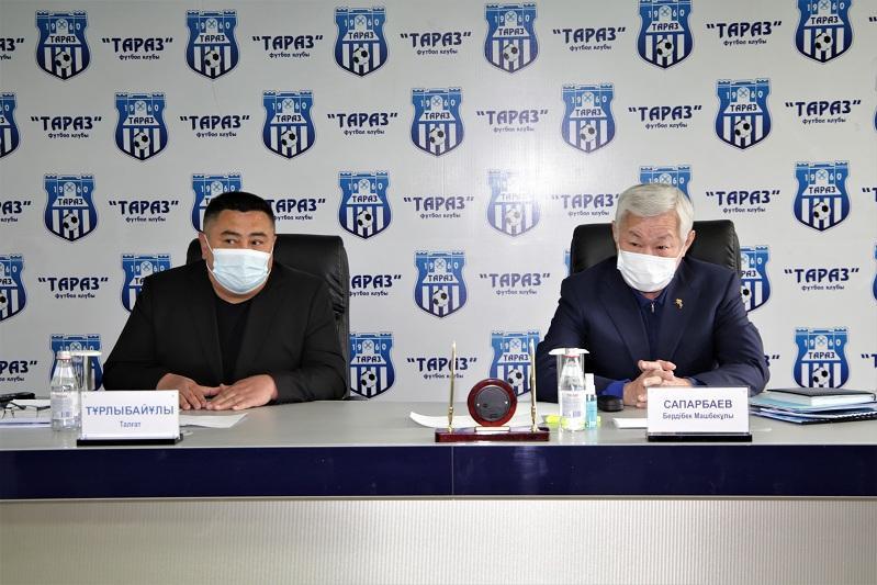 Бердибек Сапарбаев представил программу развития жамбылского футбола