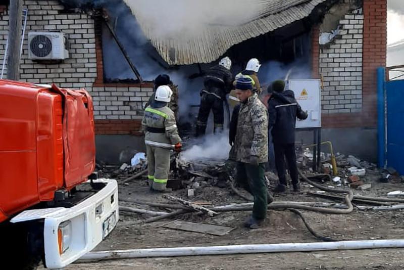 Четыре человека погибли в результате взрыва газового баллона в Кызылординской области