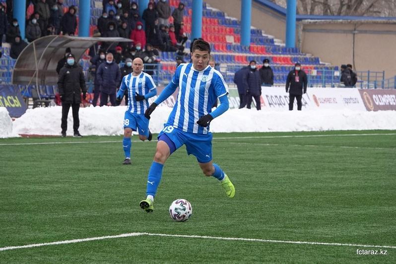 Первая победа ФК «Тараз» в чемпионате страны: все голы - на счету у воспитанников клуба