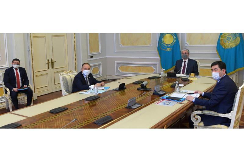 ҚР Президенті Алматы қаласын одан әрі дамыту мәселелері жөнінде кеңес өткізді