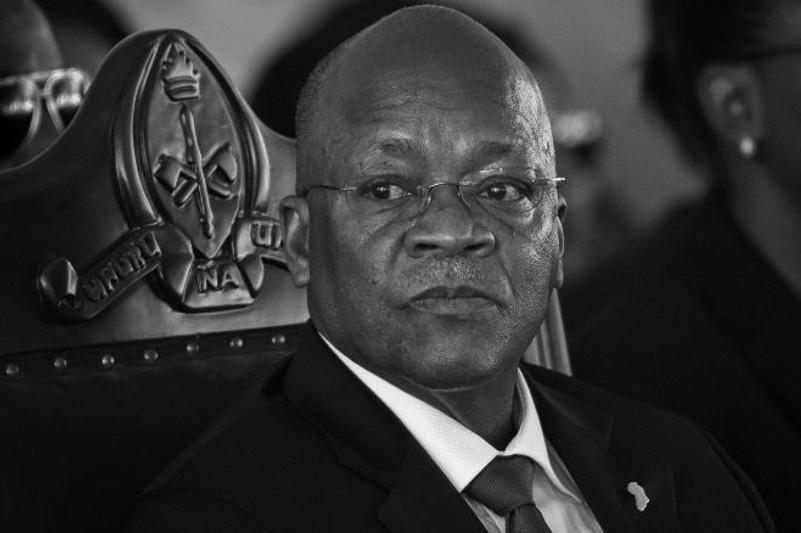 坦桑尼亚总统约翰·马古富力去世