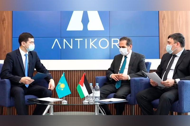 约旦驻哈大使:哈萨克斯坦是中亚地区在反腐败斗争中的佼佼者