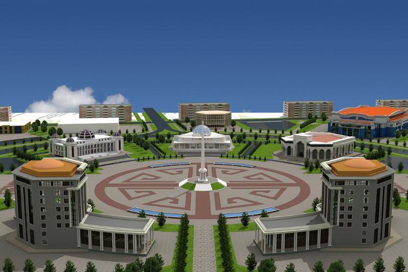 Taraz city to open pedestrian zone Arbat 3