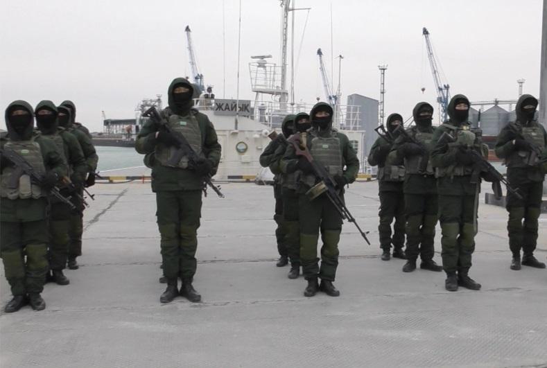 Военные моряки и морские пехотинцы прошли совместные учения в Актау