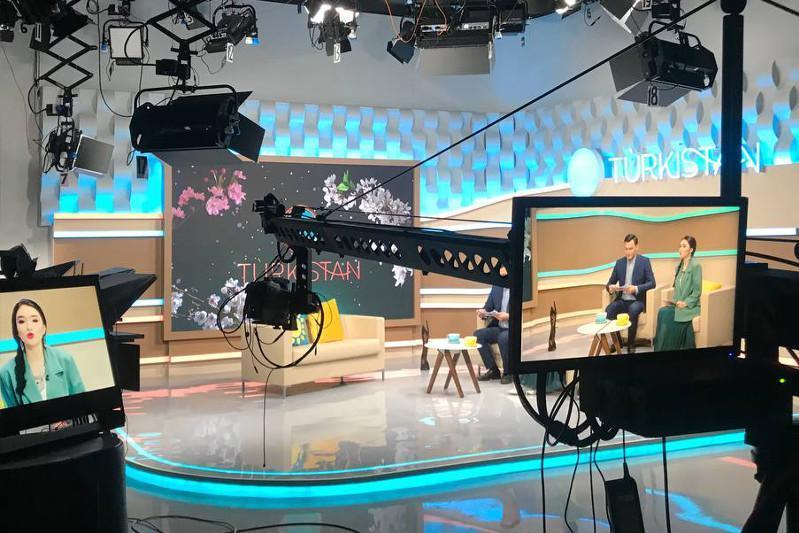 «Turkistan» телеканали эфирини бошлади