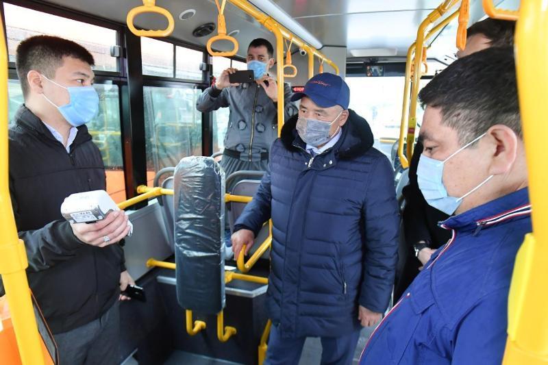 Туркистонда янги автобуслар қатнай бошлади