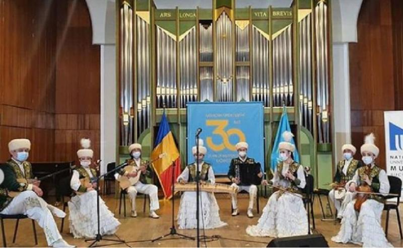 Румынияда Құрманғазының белгілі шығармалары орындалды