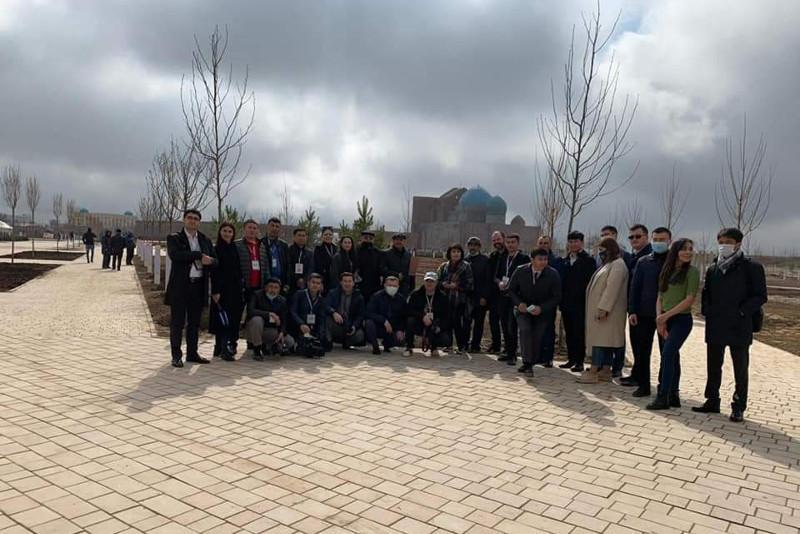 Шетелдік журналистер Түркістанда наурыз мерекесін атап өтті