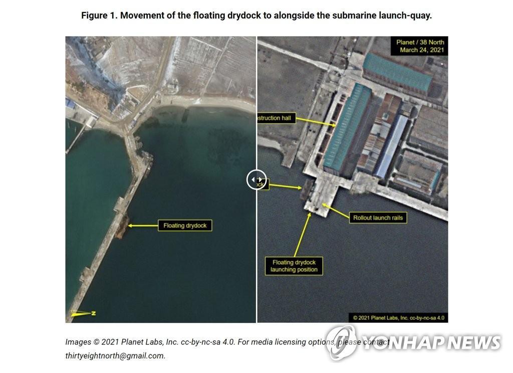 韩军关注朝鲜弹道导弹潜艇下水动向
