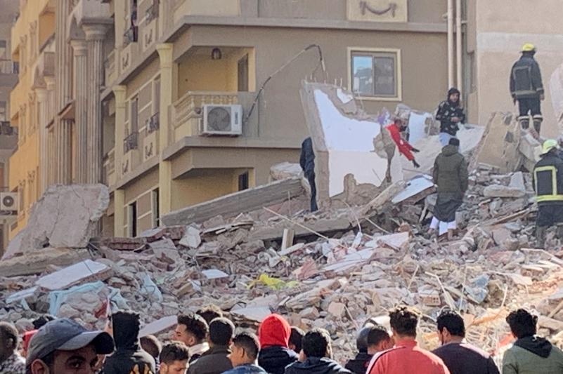 埃及开罗公寓倒塌死亡人数增至25人