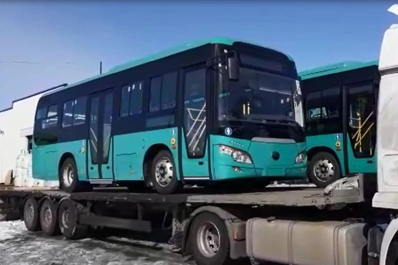 Новые автобусы не прошли тест-драйв в Петропавловске
