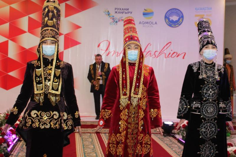 Ethno-fashion contest dated to 30th anniversary of Independence held