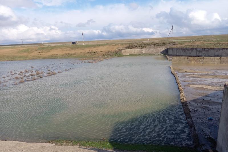 Работу по предотвращению паводков проводят на Капшагайском водохранилище