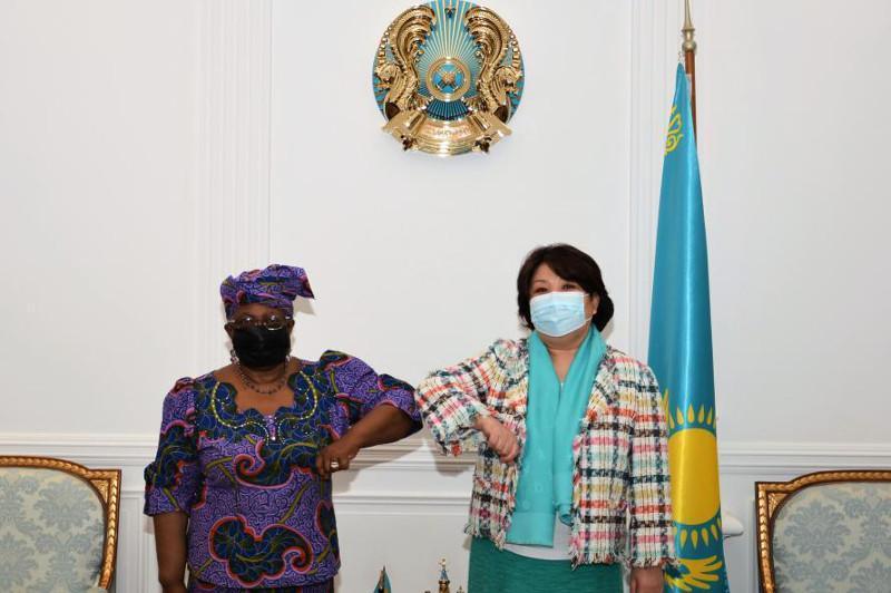 哈萨克斯坦驻联合国代表与世贸组织总干事举行会晤