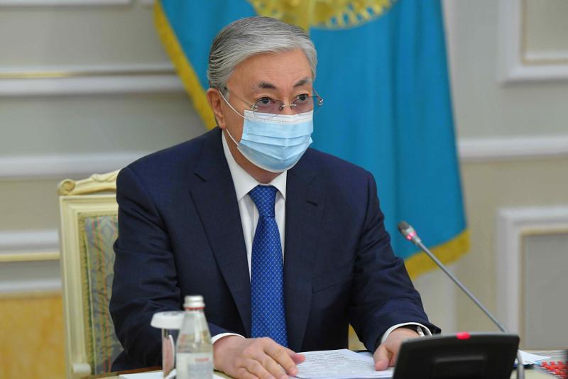 Президент РК: Единственно надежным решением в борьбе с коронавирусом является вакцинация
