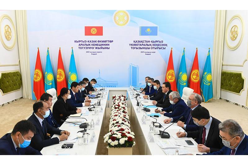 Prime ministers of Kazakhstan, Kyrgyzstan open Korday-Ak Zhol modernized checkpoint