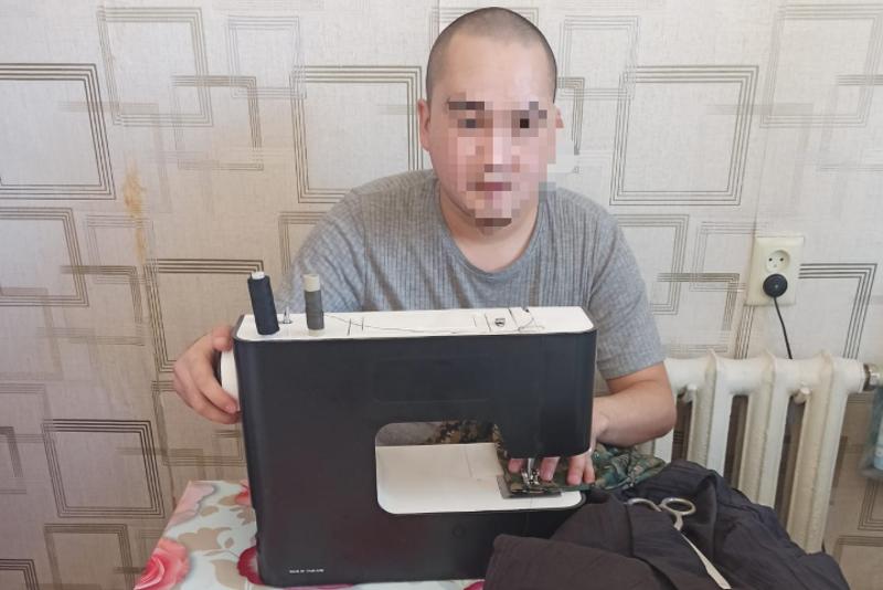 Освоил профессию портного в заключении: осужденный открыл свой бизнес в Кызылорде