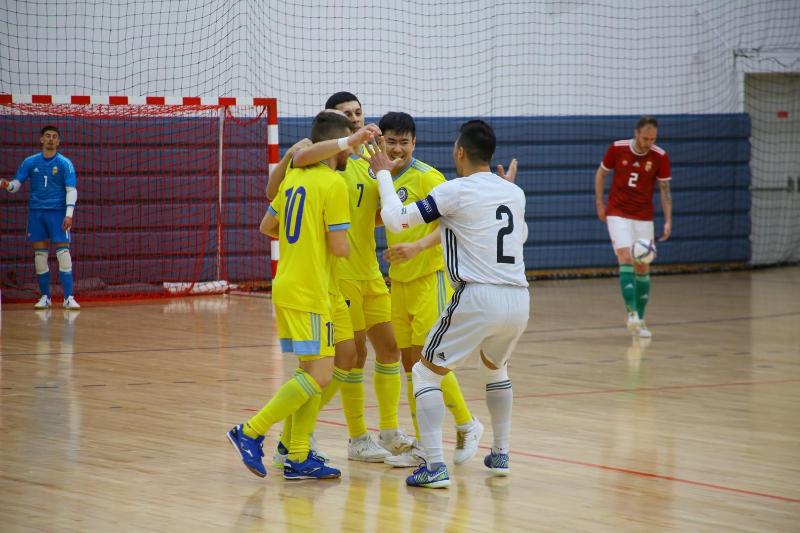 Команда Казахстана по футзалу квалифицировалась на ЕВРО-2022