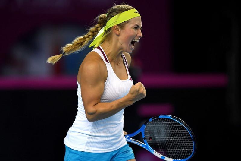 Юлия Путинцева обыграла Зарину Дияс и вышла в 1/8 финала турнира в США