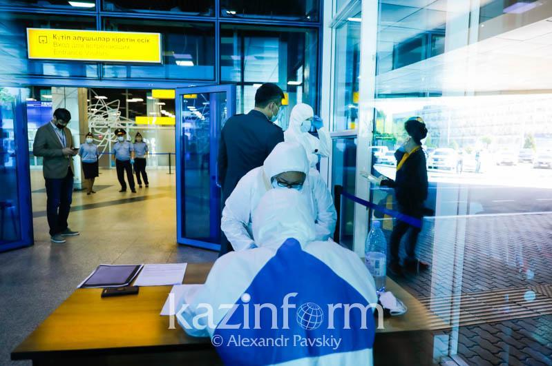 У прибывшего рейсом Дубай – Нур-Султан казахстанца выявлен коронавирус