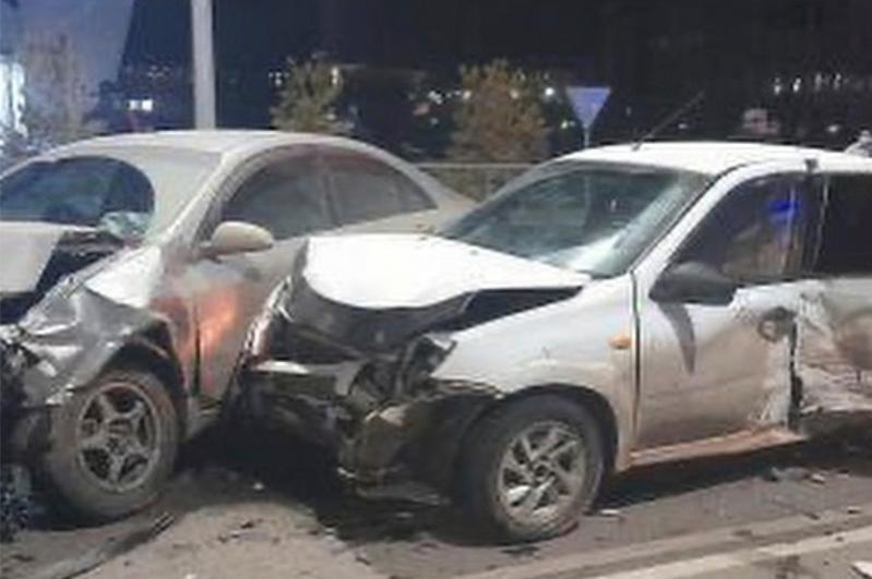 ДТП с участием трех машин произошло в Кокшетау, погибла женщина