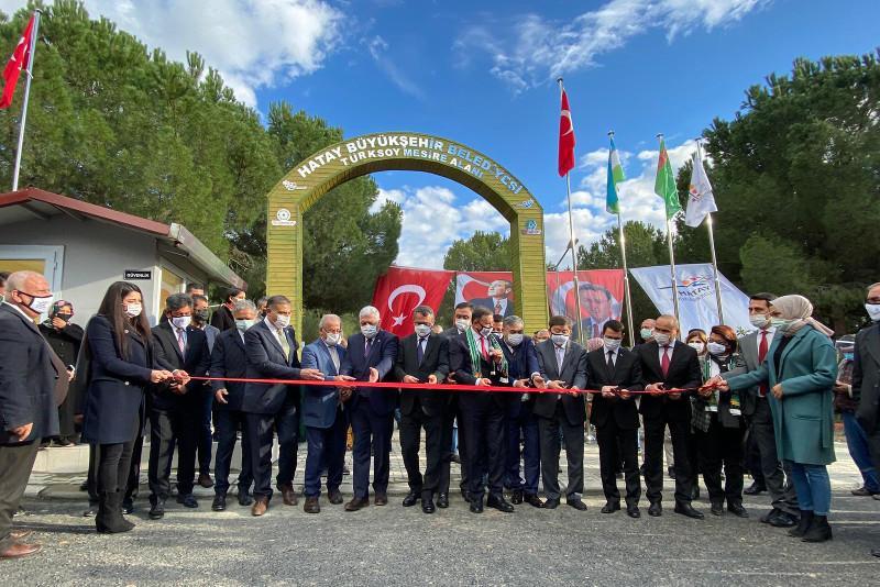 В Хатае открыли парк ТЮРКСОЙ