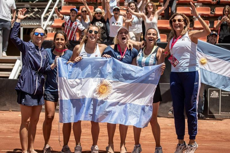 Argentina names squad vs Kazakhstan in Billie Jean King Cup playoffs