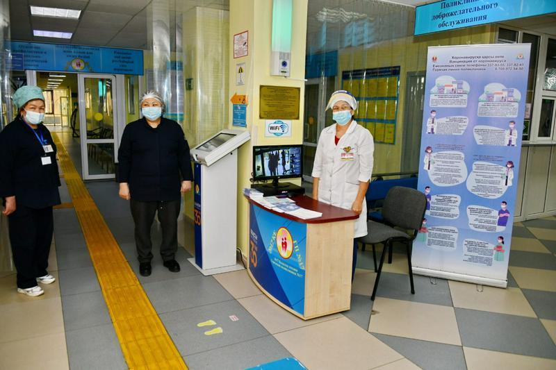 О развертывании прививочных пунктов в ТРЦ высказалась Айжан Есмагамбетова