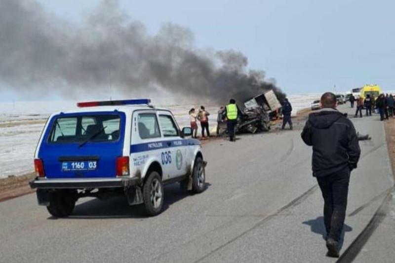 «Көкшетау-Атбасар» тас жолында жол апатынан 3 адам көз жұмды