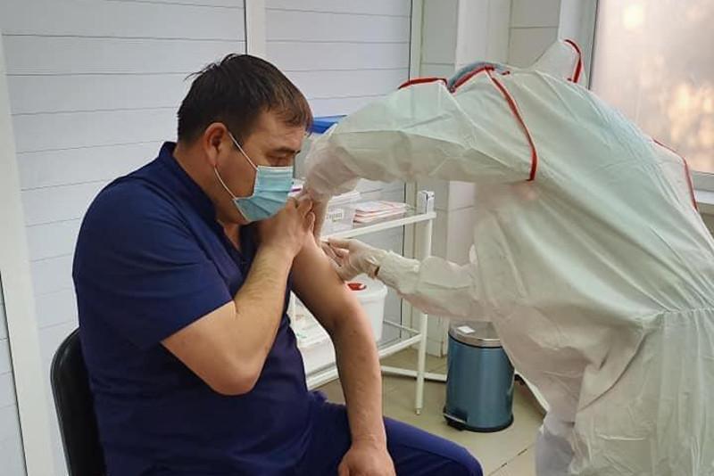Более 20 тысяч человек вакцинировались в Туркестанской области