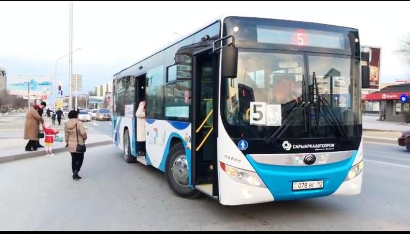 Ақтауда маска кимеген жолаушыларды автобусқа мінгізбейді