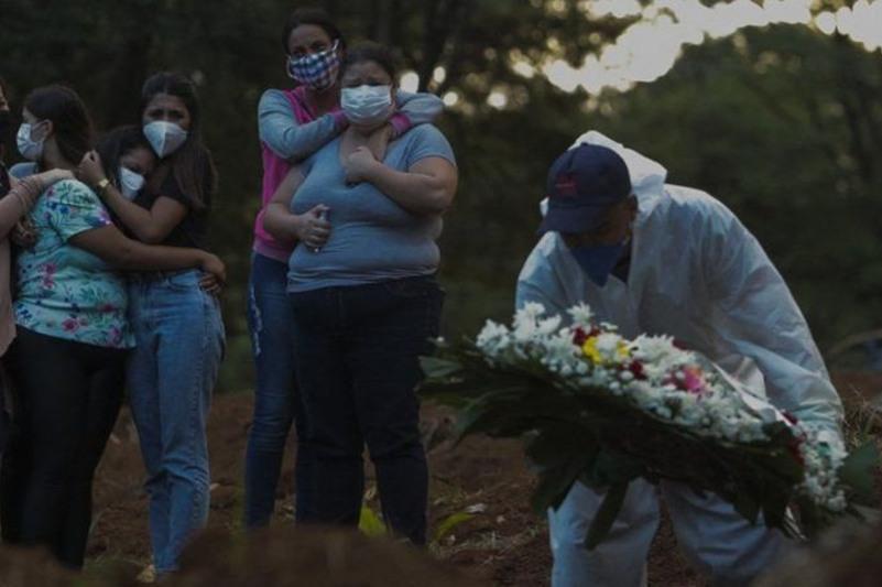 Дунёда коронавирус: Бразилияда ўлим даражаси рекорд даражада