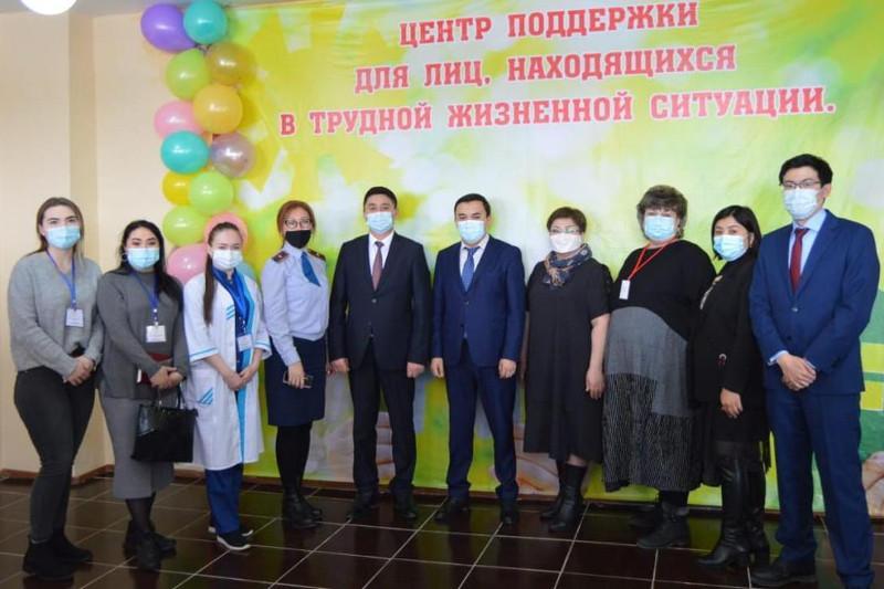 Первый районный кризисный центр открыли в Карагандинской области