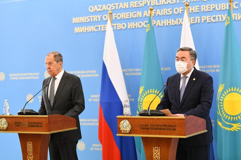 Мухтар Тлеуберди подвел итоги переговоров с Сергеем Лавровым