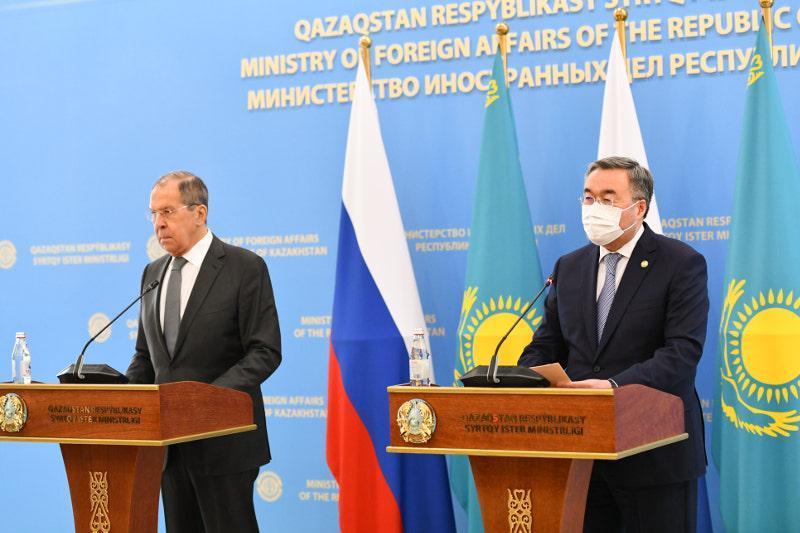 Kazakh Minister Mukhtar Tleuberdi on talks with Russian counterpart Sergey Lavrov