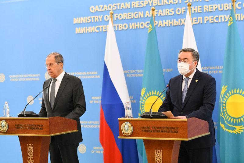 哈萨克斯坦外长:与俄方开展了有意义和富有成果的会谈