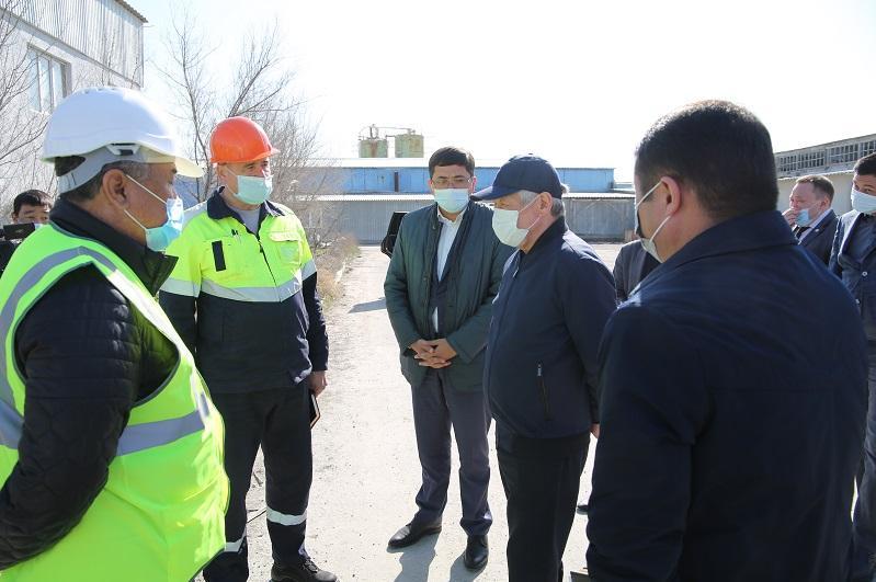 Областная власть окажет поддержку для развития производств в Жамбылской области - Бердибек Сапарбаев