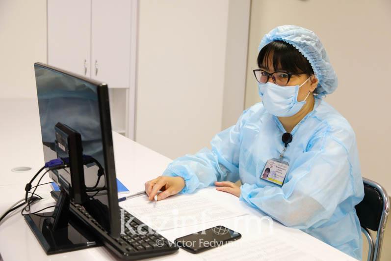 Атырауда модульді ауруханаға коронавирус жұқтврған науқастарға толығымен толды