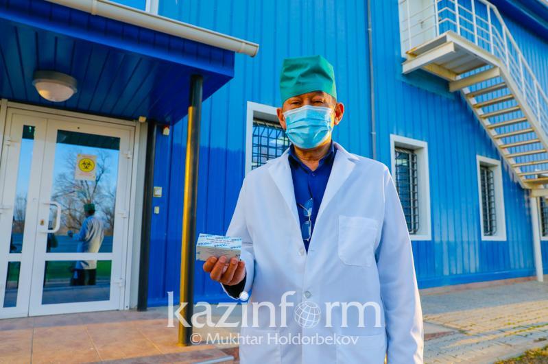 Казахстанскую вакцину QazVac представили ученые