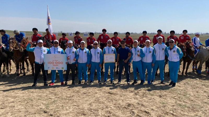 Қарағанды командасы көкпардан республикалық турнирде жүлдегер болды