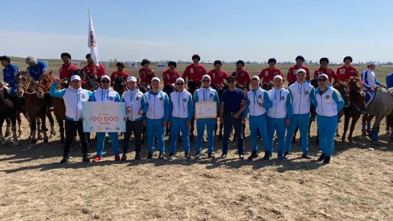 Команда Карагандинской области стала призером республиканского турнира по кокпару