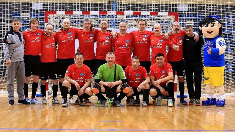 Карагандинские шахтеры победили на чемпионате РК по футзалу