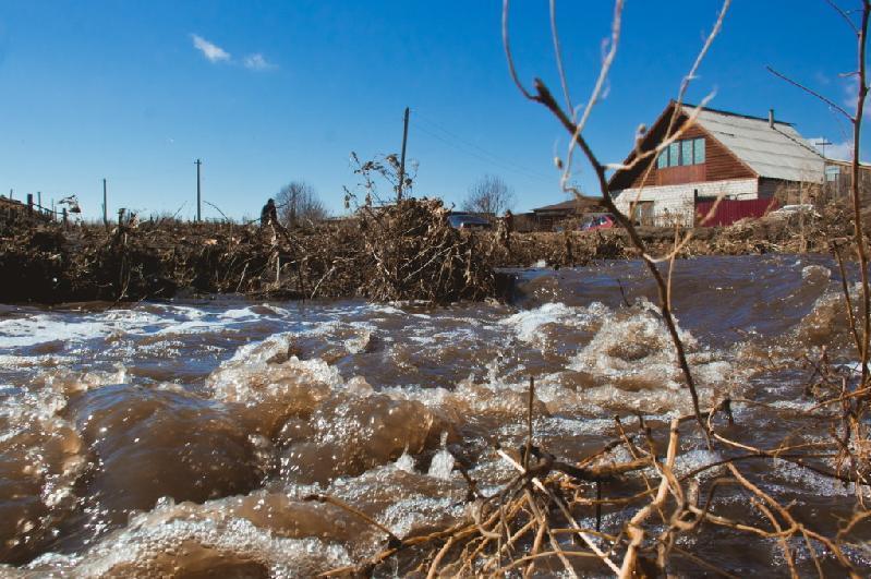 Штормовое предупреждение из-за паводка объявили в СКО