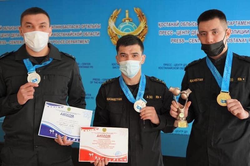 Сотрудники костанайского СОБРа стали лучшими на чемпионате Казахстана