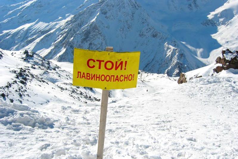 Об опасности схода лавин в горах предупредили алматинцев